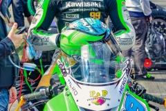 PJ Jacobsen, hier noch auf Kawasaki in der Supersport-WM unterwegs